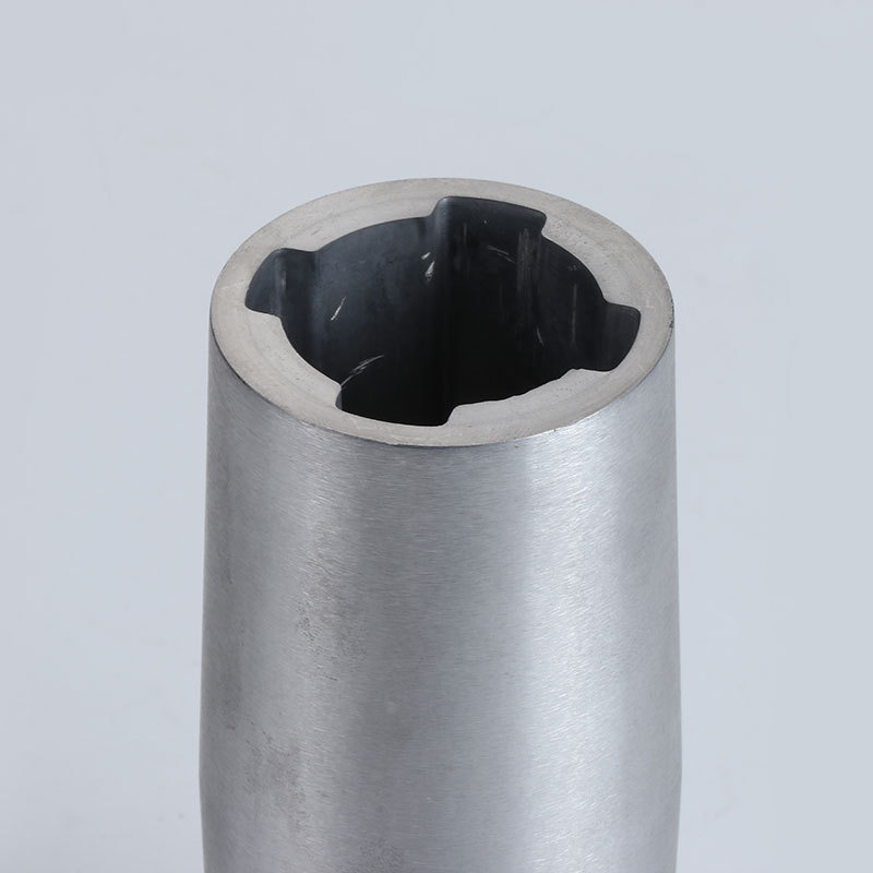 Undertake zinc alloy die-casting joint natural color wool culture accessories products (1)